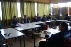 Charla Técnica empresa TECNET a alumnos de Electricidad Domiciliaria